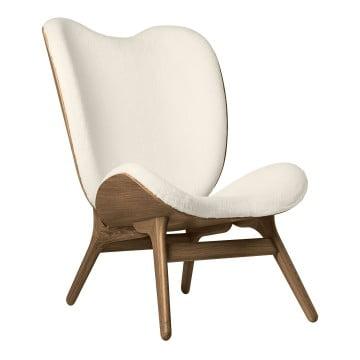 Кресло Umage A Conversation Piece, тёмный дуб, белый