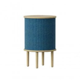 Тумба Umage Audacious Side table, дуб, синяя
