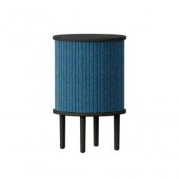 Тумба Umage Audacious Side table, чёрный дуб, синяя