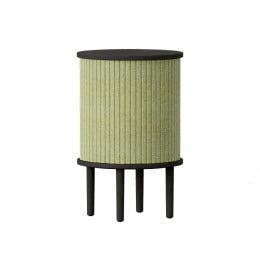 Тумба Umage Audacious Side table, чёрный дуб, зеленая