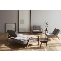 Диван-кровать Innovation Living Splitback Lauge, серый