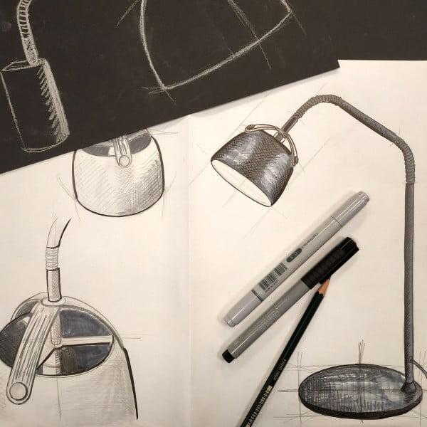 Подвесной светильник OSLO D24 черный дуб