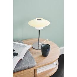Настольный светильник SCANDINAVIA D20 opal chrome