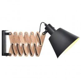 Настенный светильник VINTAGE черный орех