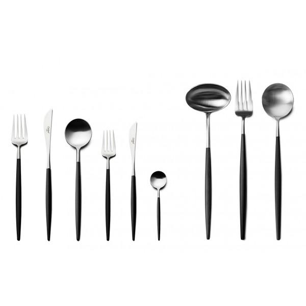 Набор столовых приборов CUTIPOL 75 предметов чёрный