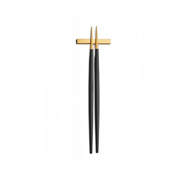 Набор палочек для еды CUTIPOL GOA GOLD MATTE CHOPSTICKS 2 предмета