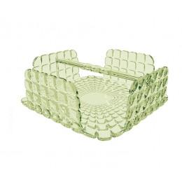 Салфетница квадратная Tiffany зелёная