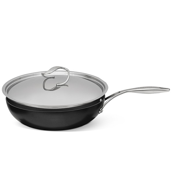Сковорода с крышкой Style 30 см