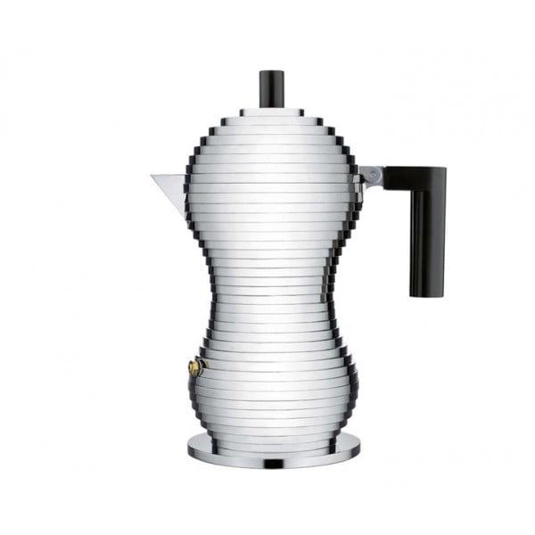 Кофеварка для эспрессо Pulcina черная 150 мл