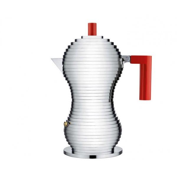 Кофеварка для эспрессо Pulcina красная 150 мл
