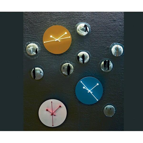 Часы настенные Dotty желтые