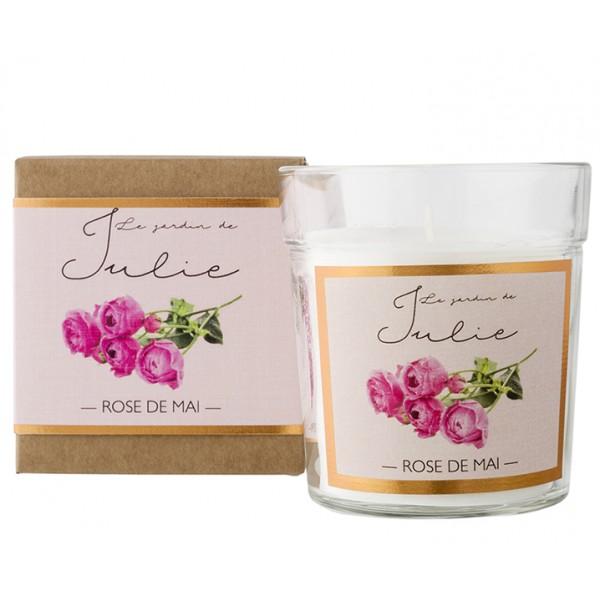 Свеча ароматическая Le jardin Майская роза