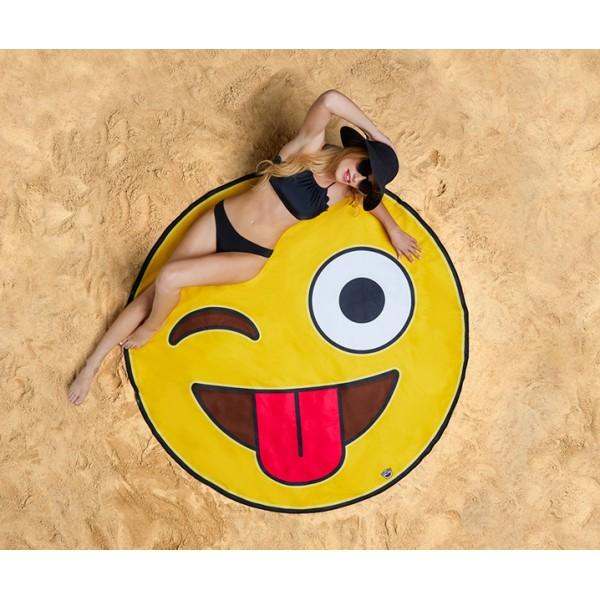 Покрывало пляжное Emoji
