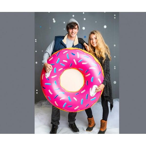 Тюбинг надувной Pink Frosted Donut