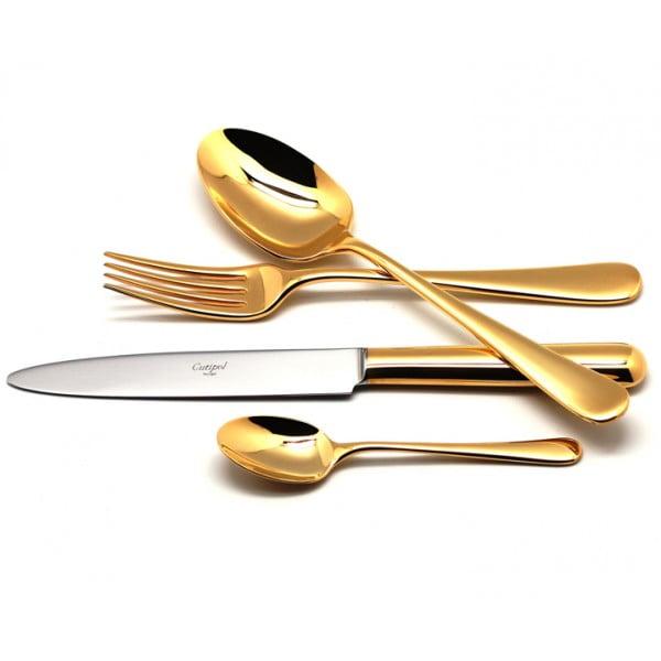 Набор столовых приборов CUTIPOL ATLANTICO GOLD полированный
