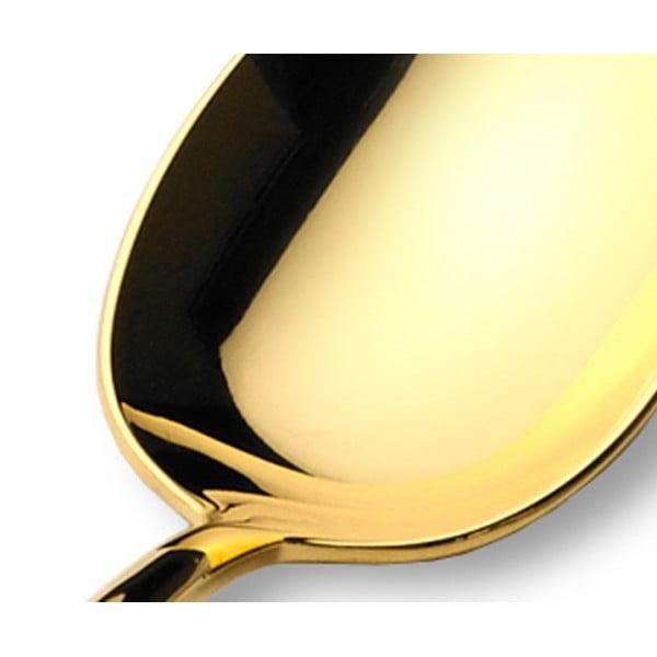 Набор столовых приборов CUTIPOL Line Gold, зеркальная полировка позолоченные