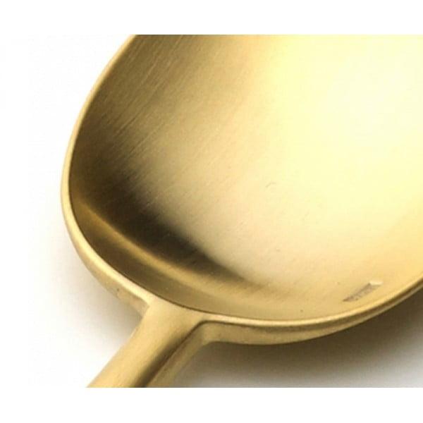 Набор столовых приборов CUTIPOL VAN DER ROHE GOLD 24 предмета матовый