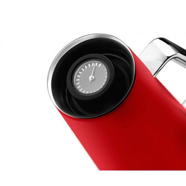 Tермокувшин с индикатором 1 л красный