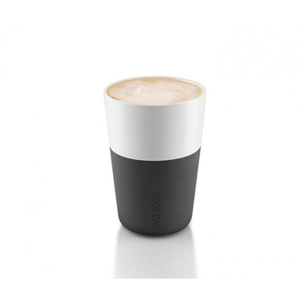 Набор чашек Latte 360 мл черный