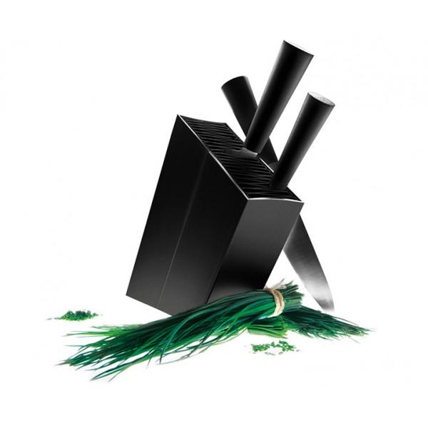 Подставка для ножей Knife Stand черная