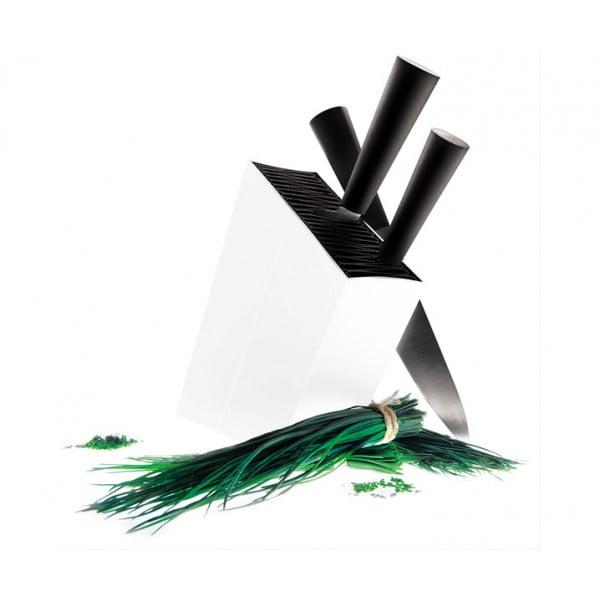 Подставка для ножей Knife Stand белая