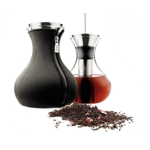 Чайник заварочный Tea Maker в неопреновом чехле 1 л чёрный
