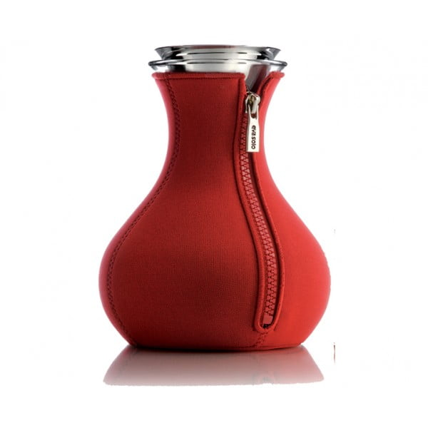 Чайник заварочный Tea Maker в неопреновом чехле 1 л красный