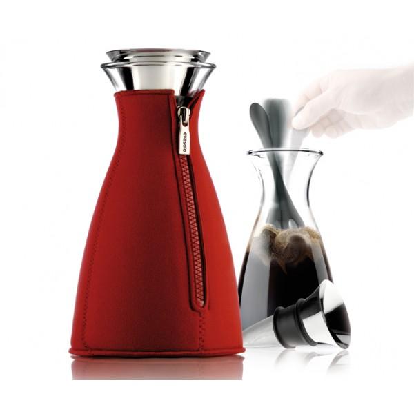 Кофейник Cafe Solo в неопреновом чехле 1 л красный