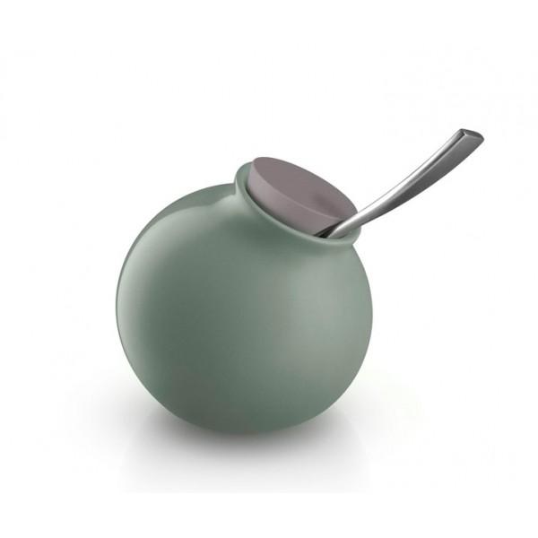 Сахарница Globe лунно-зелёная