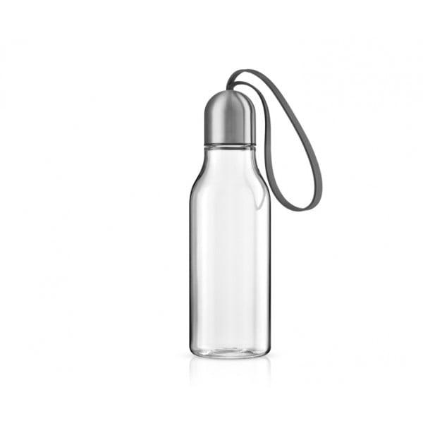 Бутылка спортивная 700 мл серая