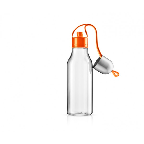 Бутылка спортивная 700 мл оранжевая