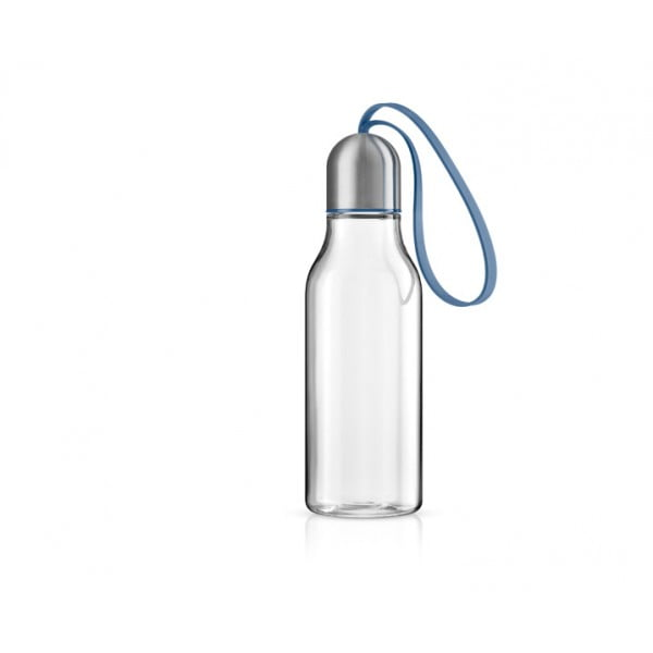 Бутылка спортивная 700 мл лунно-голубая