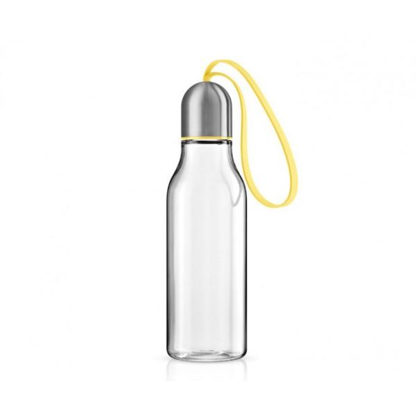 Бутылка спортивная 700 мл желтая
