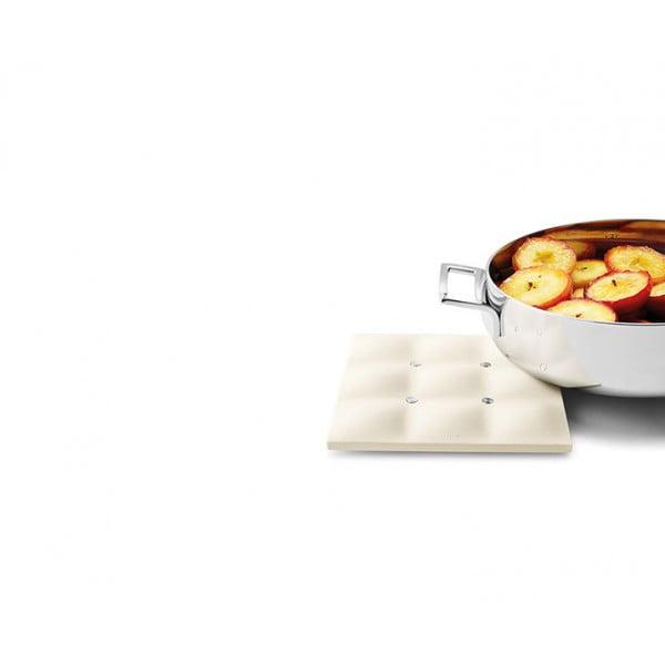 Силиконовая подставка под горячее Dish Mat белая