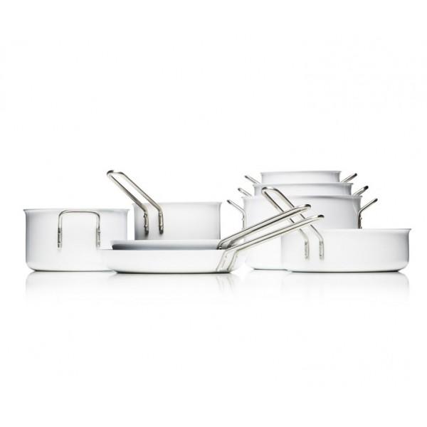 Сковорода с антипригарным покрытием SLIP-LET White Line 28 см