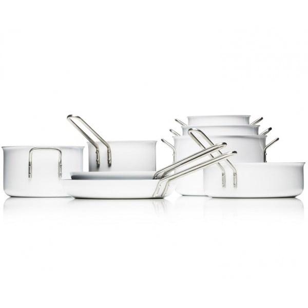 Кастрюля с керамическим покрытием White Line 7 л