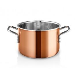 Кастрюля медная Copper 3,9 л