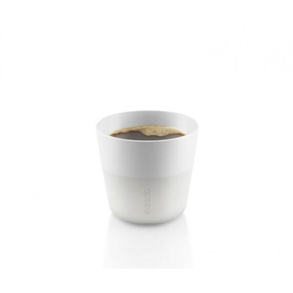 Кофейные чашки Lungo 2 шт 230 мл белые