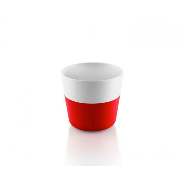 Кофейные чашки Lungo 2 шт 230 мл оранжевые