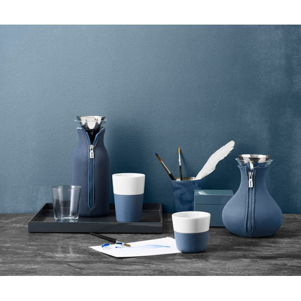 Кофейные чашки Lungo 2 шт 230 мл лунно-голубые