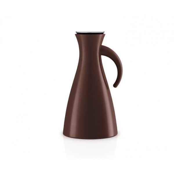 Высокий термокувшин Vacuum 1 л коричневый