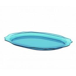 Блюдо Belle Epoque голубое