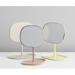 Зеркало настольное Normann Copenhagen Flip желтый