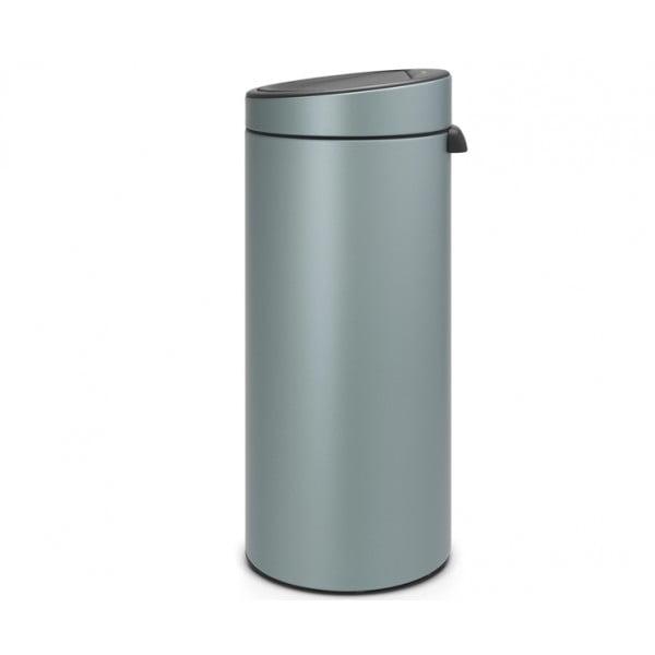 Мусорный бак Touch Bin 30 л мятный металлик