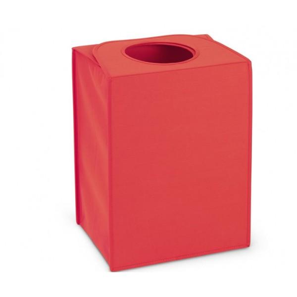 Сумка для белья прямоугольная 55 л красный