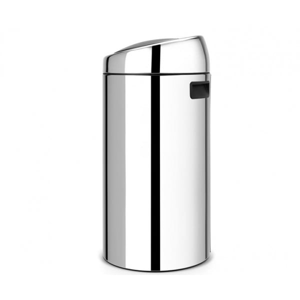 Мусорный бак Touch Bin 45 л полированная сталь