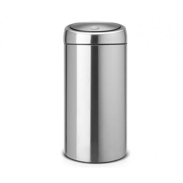 Мусорный бак Touch Bin 45 л матовая сталь