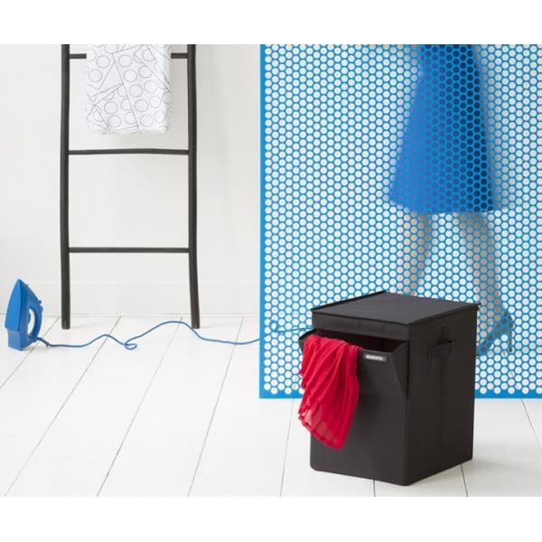 Модульный ящик для белья 35 л черный