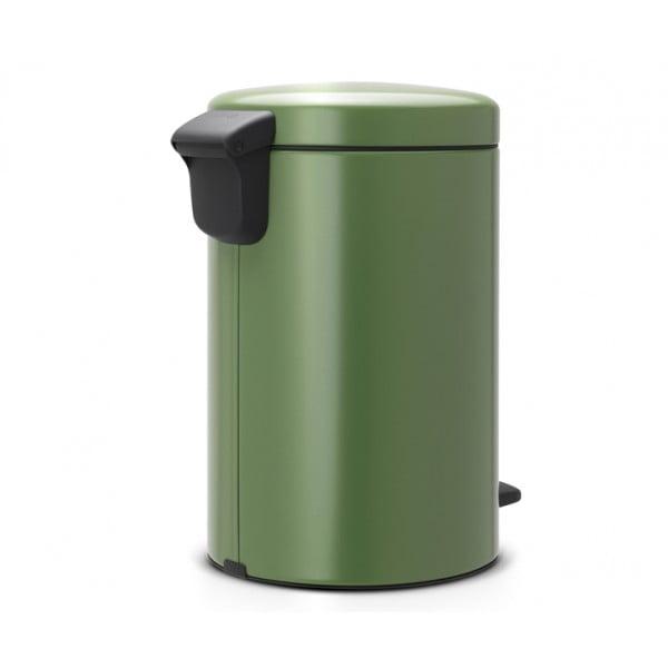 Мусорный бак с педалью New Icon 12 л зеленый мох