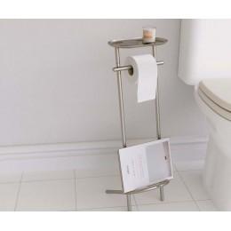Держатель для туалетной бумаги стальной